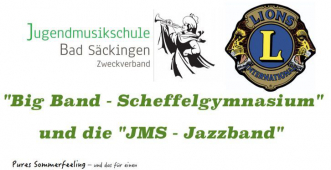 Mit Musik in die Sommerferien - Das Scheffel Big Band Open Air